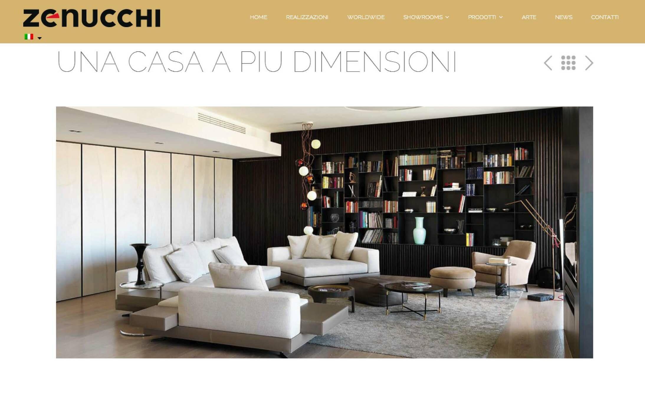 Centimetro quadro studio for Zenucchi arredamenti